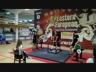 Остапенко Денис! Новый рекорд России 67.5 кг номинация строгий подъем на бицепс (Юноши) до 82.5 кг💪💪💪