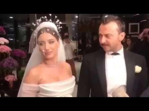 Hazal Kaya İle Ali Atay Çiftinin Düğününden Görüntüler