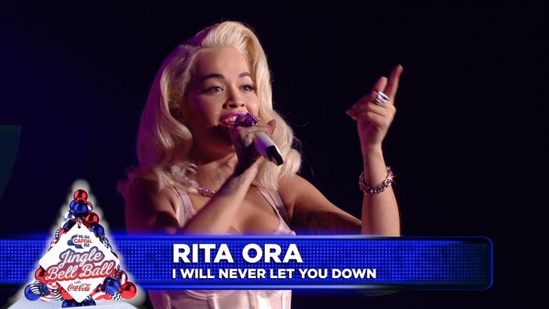 Rita Ora - I Will Never Let You Down (Live at Capitals Jingle Bell Ball 2018)