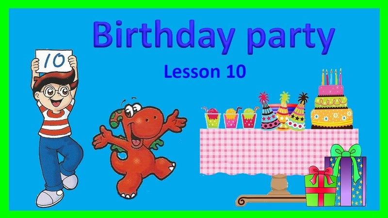 How old are you? Sing-Along Learn Counting to 10. Birthday vocabulary | ENGLISH FOR KIDS