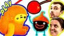 БолтушкА и ПРоХоДиМеЦ Помогают Странному ЧУЧЕЛУ поймать Вишенку 195 Игра для Детей Чучел