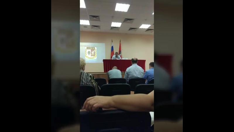 Встреча с главой Управы Вешняки Маховым С.М. 5.09.18