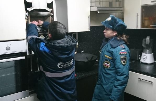В Волжске состоялся рейд по проверке газового оборудования в частных домах