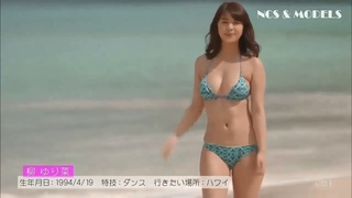 Japanese gravure idol 2018 || Yurina Yanagi || hot bikini girl at beach || Jav idol show