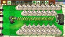 Plants vs. Zombies - 1 Gatling Pea vs 999.999 Zombies - Pvz