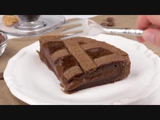 Нежный пирог с шоколадным муссом Восхитительный рецепт