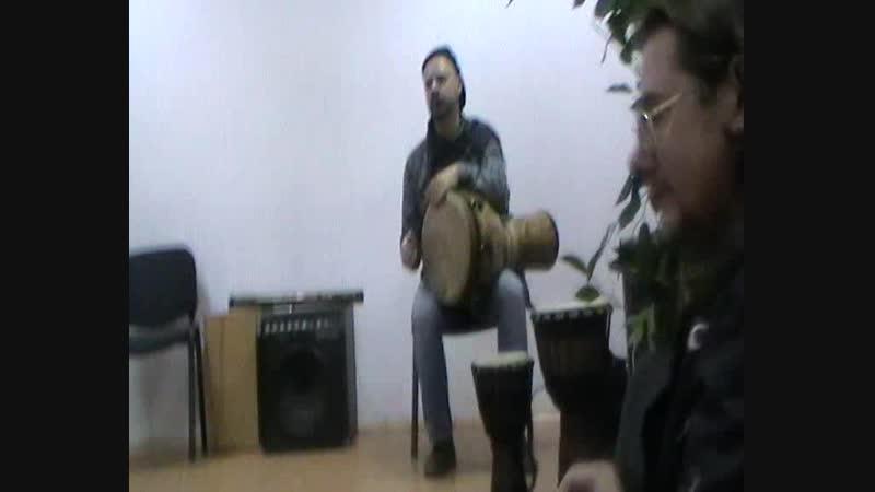 Дон Перкуссион и Дмитрий Балабенко (гр.Наощупь)27.10.18