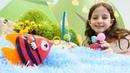 Çocuk videosu Sihirli balıktan 3 dilek hakkı