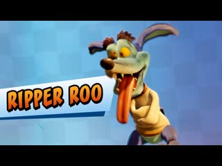 The most explosive racer in N. Sanity Beach . He will laugh your ear off . It's Ripper Roo!