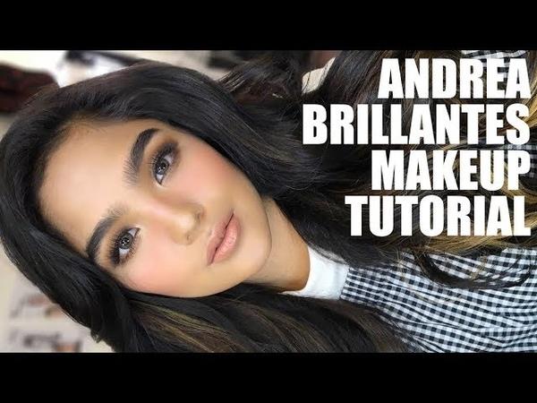 ANDREA BRILLANTES MAKEUP TUTORIAL | DRUNK BLUSH SMOKEY EYES | Kenny Manalad