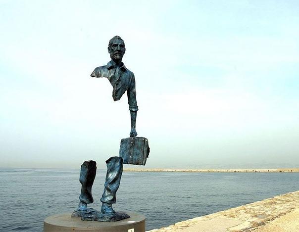 Искусство вне гравитации: скульптуры, над которыми не властны законы физики (Часть 2) Некоторые современные скульпторы удивляют своей способностью создавать шедевры, буквально парящие в воздухе