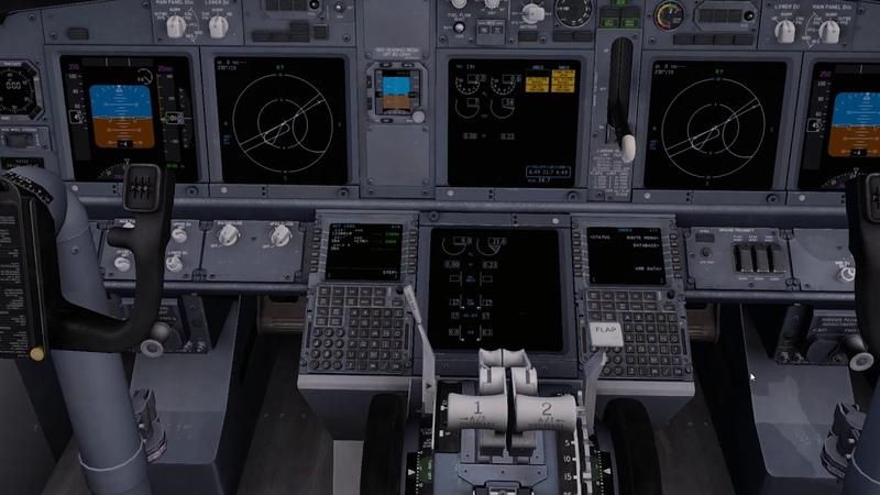 737-800 Стаковый, Запуск, FMC настройки, ответы Пилота на вопросы, Перелет Барселона - Ибица