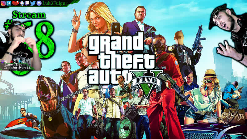 GTA V Online Y€@ All DLCPCMax68th Stream