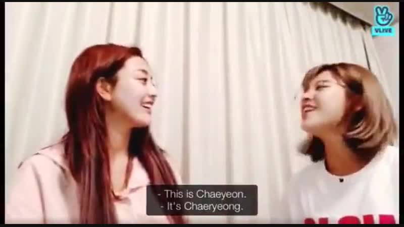 Jihyo unable to see the difference between chaeyeon and chaeryeong
