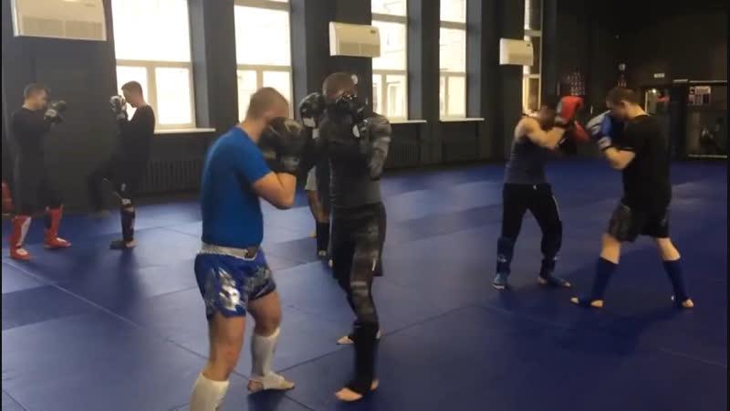 Александр Саночкин - утренняя тренировка
