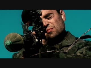 Три короля (1999) Бой у бункера с участием иракского вертолета