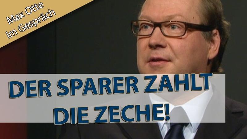 EU, Schulden und Finanzielle Repression... Max Otte im alpha-Forum der ARD