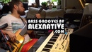 ALEX NATIVE Bass groove in minor