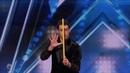 Lioz Shem Tov Comedy Magician 'Telekinesis' Auditions America's Got Talent 2018
