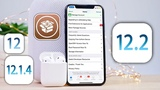 ROOT JB Tool NEW! iOS 12.2 - 12.1.4 and all 12.X Support! Cydia Fixed!