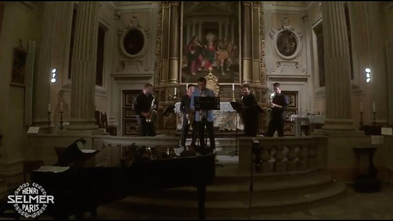 Nikita Zimin Saxofollia Saxophone Quartet - D. Cimarosa Oboe Concerto