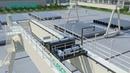 Winch drive double girder gantry crane
