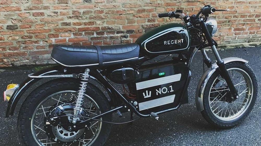 Электроцикл Regent с классическим дизайном
