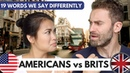 19 Words Brits and Americans Say Differently
