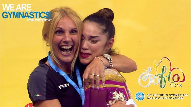 2018 Rhythmic Worlds – Brava Agiurgiuculese ! - We are Gymnastics !