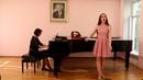 1) Vieni, vieni 2)С. Рахманинов Сирень 3) Дождик Украинская народная песня