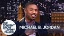 Michael B. Jordan on Push-Ups with Lupita Nyong'o and Not Saying Wakanda Forever