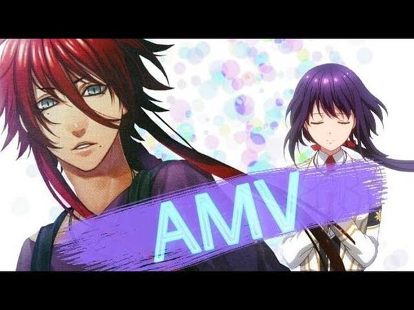 AMV|Аниме клип|Kamigami no Asobi|Забава богов - смотря в твои глаза, я вижу космос...