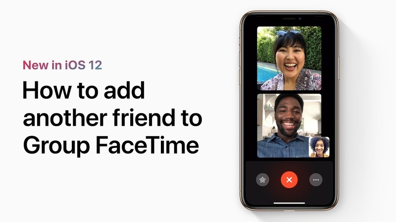 How to add another friend to Group FaceTime — Apple Support