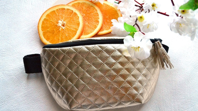 DIY Шьем аксессуары. Поясная сумка. Часть 2. Как раскроить сумку МАСТЕР КЛАСС ✄ Tanya Filatova