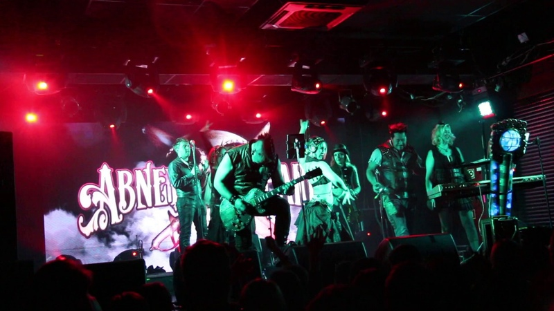 Abney Park Maria Tatiana tribal dancers - Sleep Isabella @ St.Petersburg Zal 5.04.2019