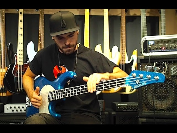Miki Santamaria - EXTREME SLAP BASS SOLO VOL 2 - With TABS!