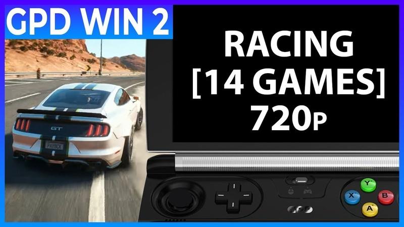 GPD WIN 2 - RACING (14 GAMES)