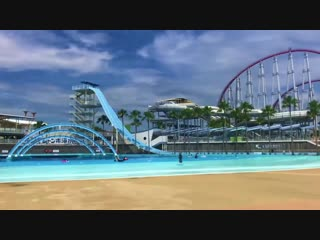 Nagashima Spa Land is a large amusement park in Kuwana, Mie Prefecture, Japan