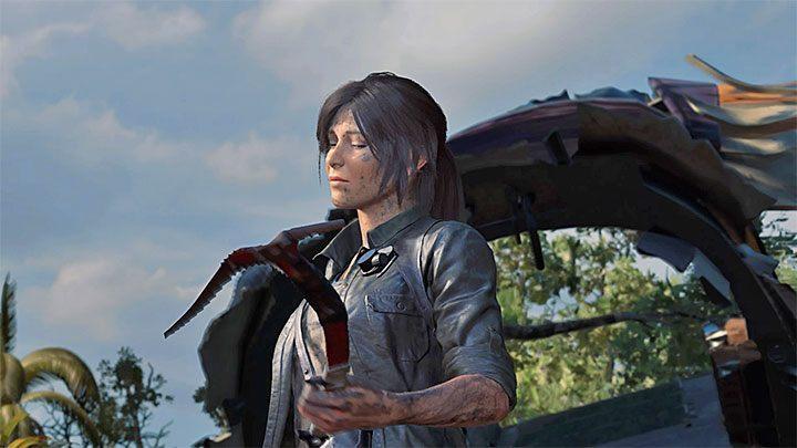 альпинистский топор вShadow of the Tomb Raider