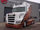 Scania S650 11 (T-CAB Edition) 6X2 V8 Power (Next Generation)
