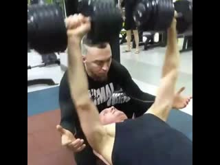 Персональная тренировка от Юлии Ибраевой и Юрия Конева