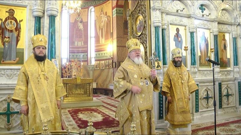 Торжественные мероприятия, посвященные пятилетию образования Воронежской митрополии