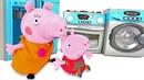 Peppa Pig español. Compramos electrodomésticos. Vídeos de juguetes.