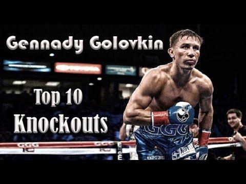 GENNADY ''GGG'' GOLOVKIN || TOP 10 GREATEST KNOCKOUTS