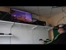 Процесс игры Serious Sam в нашем клубе виртуальной реальности.