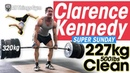 Clarence Kennedy SUPER SUNDAY 227kg / 500lbs Clean PR! 320kg x3 Deadlift! Speed Squats Crazy Flips