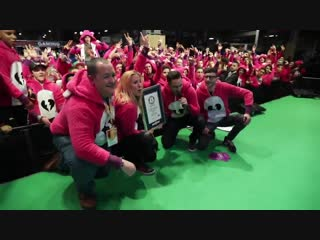 What do you get when you bring together Fortnite fans at Paris Games Week A Guinness World