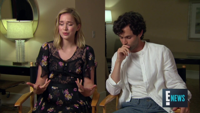 Penn Badgley, Elizabeth Lail Shay Mitchell Talk New Series You | E! Live from the Red Carpet