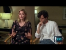 Penn Badgley, Elizabeth Lail Shay Mitchell Talk New Series You   E! Live from the Red Carpet