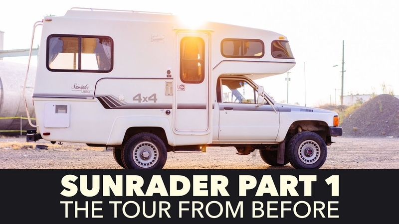 Toyota Sunrader 4x4 Build Part 1 - Tour Before Renovation